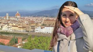 Laura Pederzoli a Firenze