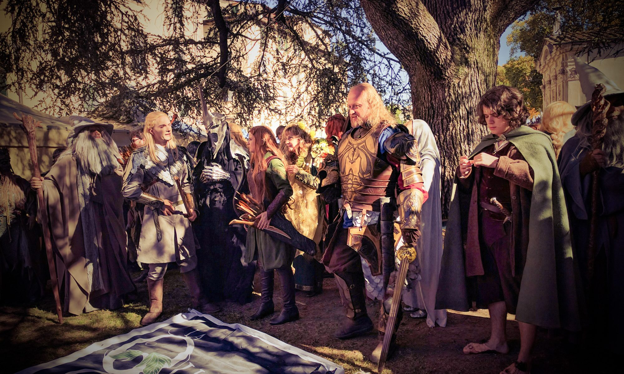 The Fellowship of the Ring di Tolkien 2016 LuccaGold - Foto di Laura Pederzoli